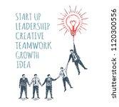 vector business concept... | Shutterstock .eps vector #1120300556