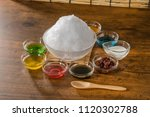 shaved ice of summer | Shutterstock . vector #1120302788