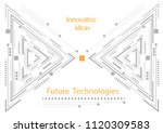 future technologies .innovative ... | Shutterstock .eps vector #1120309583