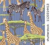 seamless pattern  background ... | Shutterstock .eps vector #1120314413