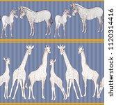 seamless pattern  background ... | Shutterstock .eps vector #1120314416