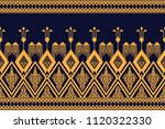 geometric ethnic pattern... | Shutterstock .eps vector #1120322330