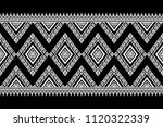 geometric ethnic pattern...   Shutterstock .eps vector #1120322339