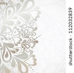 illustration silver background... | Shutterstock .eps vector #112032839