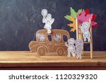 back to school concept with... | Shutterstock . vector #1120329320