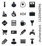 set of vector isolated black... | Shutterstock .eps vector #1120346096