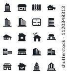 set of vector isolated black... | Shutterstock .eps vector #1120348313