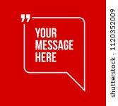 innovative vector quotation... | Shutterstock .eps vector #1120352009