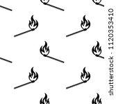 lit matchstick  burning... | Shutterstock .eps vector #1120353410
