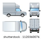 pickup truck development for...   Shutterstock .eps vector #1120360076