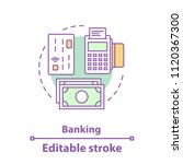 banking concept icon. finance... | Shutterstock .eps vector #1120367300