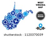 repair service west virginia... | Shutterstock .eps vector #1120370039