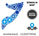 industrial somalia map collage... | Shutterstock .eps vector #1120373936
