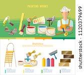 professional instrument of...   Shutterstock .eps vector #1120379699