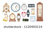 collection of mechanical and... | Shutterstock .eps vector #1120403114