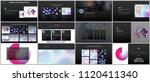 minimal presentations ... | Shutterstock .eps vector #1120411340