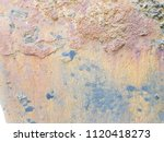 texture of rusty iron. aged... | Shutterstock . vector #1120418273