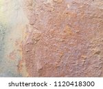texture of rusty iron. aged... | Shutterstock . vector #1120418300
