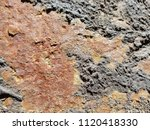 texture of rusty iron. aged... | Shutterstock . vector #1120418330