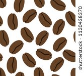 seamless pattern of the coffe....   Shutterstock .eps vector #1120438370