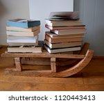 london uk may 29  2018  wooden... | Shutterstock . vector #1120443413