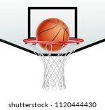ball for basketball and... | Shutterstock .eps vector #1120444430