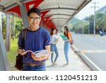 students asian portrait... | Shutterstock . vector #1120451213