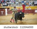 avila  spain   june 2  cesar... | Shutterstock . vector #112046000