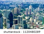 kuala lumpur city skyline with... | Shutterstock . vector #1120480289