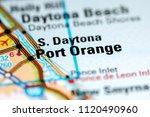port orange. florida. usa on a...   Shutterstock . vector #1120490960