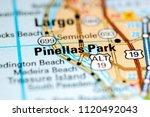 pinellas park. florida. usa on...   Shutterstock . vector #1120492043