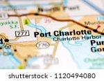 port charlotte. florida. usa on ...   Shutterstock . vector #1120494080