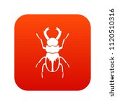 rhinoceros beetle icon digital... | Shutterstock . vector #1120510316