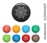 nice spiderweb icon. outline... | Shutterstock .eps vector #1120512629