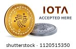 iota. accepted sign emblem....   Shutterstock .eps vector #1120515350