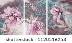 collection of designer oil... | Shutterstock . vector #1120516253