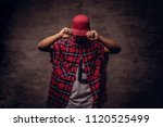 portrait of an african american ... | Shutterstock . vector #1120525499
