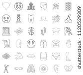 medical pharmaceutical icons... | Shutterstock . vector #1120529309