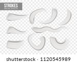 set of special effects. blank... | Shutterstock .eps vector #1120545989