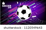 soccer vector illustration.... | Shutterstock .eps vector #1120549643