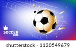 soccer vector illustration.... | Shutterstock .eps vector #1120549679