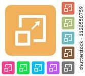enlarge window flat icons on...   Shutterstock .eps vector #1120550759