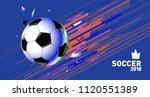 soccer vector illustration....   Shutterstock .eps vector #1120551389