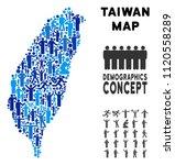 vector population taiwan island ... | Shutterstock .eps vector #1120558289