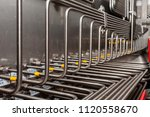 stainless steel tube fitting ... | Shutterstock . vector #1120558670