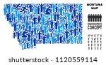 vector population montana state ... | Shutterstock .eps vector #1120559114