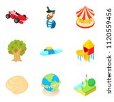 happiest period icons set.... | Shutterstock . vector #1120559456
