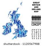 vector population great britain ... | Shutterstock .eps vector #1120567988