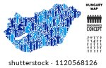 vector population hungary map....   Shutterstock .eps vector #1120568126