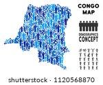 vector population democratic... | Shutterstock .eps vector #1120568870